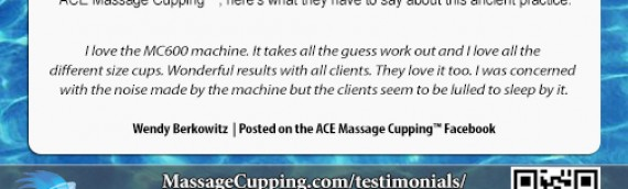 What Practitioners Are Saying about ACE Massage Cupping™